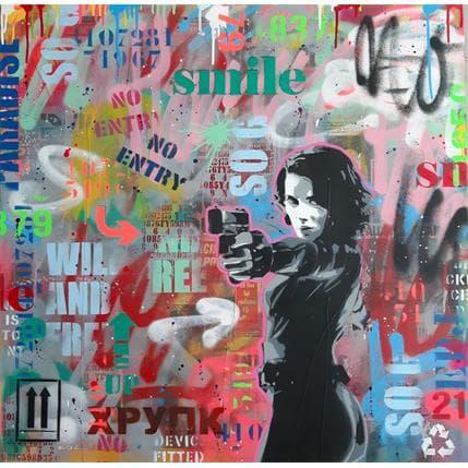 Philippe Euger Smile 80 x 80 cm