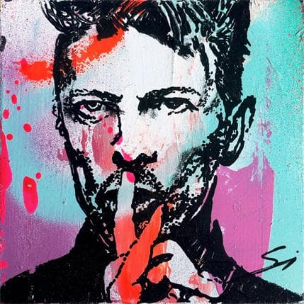 Sergi Mestres Bowie's silence 13 x 13 cm