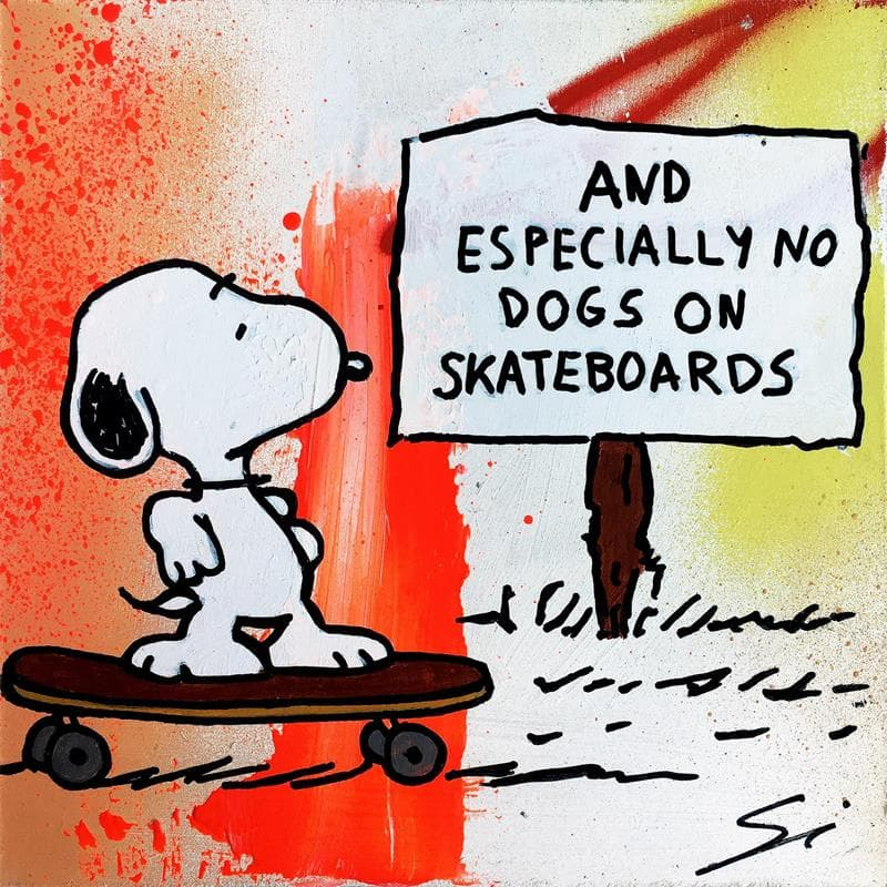 Specially no dogs Snoopy