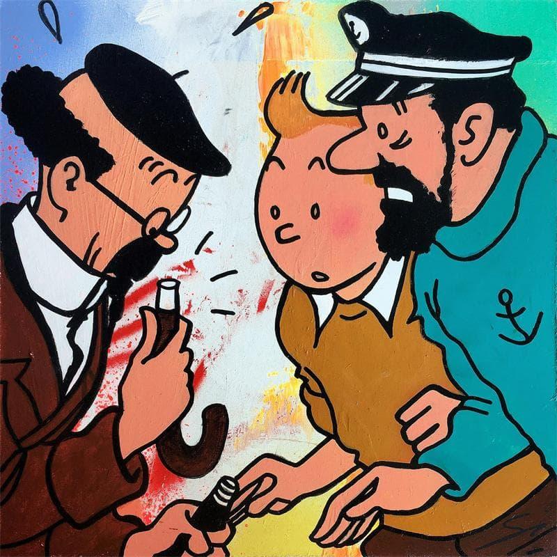Tintin where is my umbrella
