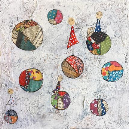 Sabine Bourdet En apesanteur 25 x 25 cm