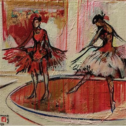 De Secondigné La danse 19 x 19 cm