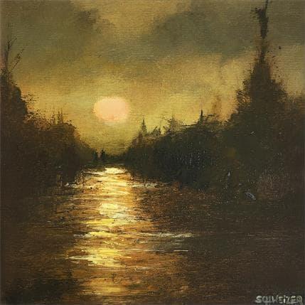 Rémi Schweizer Clair de lune 25 x 25 cm