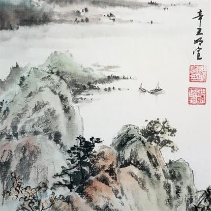 Mingxuan Du Spring of lakeside 13 x 13 cm