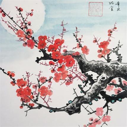 Mingxuan Du Blossom under the moonlight 19 x 19 cm