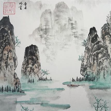 Mingxuan Du Spring of guilin 19 x 19 cm