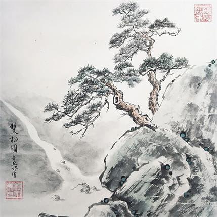 Mingxuan Du Roots in the cliffs 25 x 25 cm
