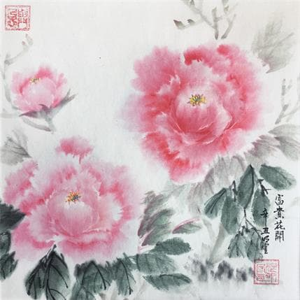 Mingxuan Du Spirit of red 25 x 25 cm