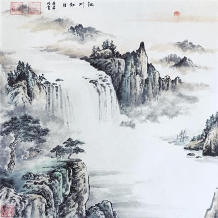 Mingxuan Du The rising sun 36 x 36 cm