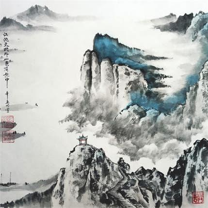 Mingxuan Du Late spring of Yangtze River 36 x 36 cm