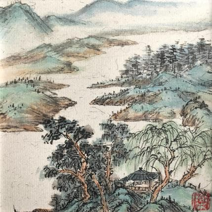Yu Huan Huan Listening 13 x 13 cm