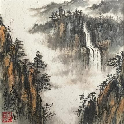 HuanHuan YU Mountain Huang 13 x 13 cm