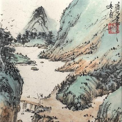 HuanHuan YU Walking 13 x 13 cm