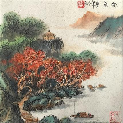 HuanHuan YU Color of autumn 19 x 19 cm