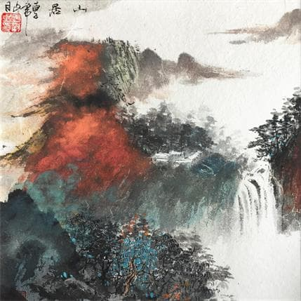 HuanHuan YU Living in mountains 25 x 25 cm
