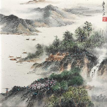 Yu Huan Huan Spring view 25 x 25 cm