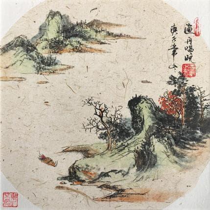 Yu Huan Huan Voice of shipping boats 25 x 25 cm