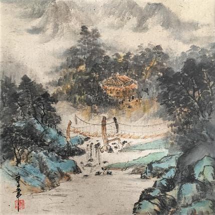 HuanHuan YU Bridge 36 x 36 cm