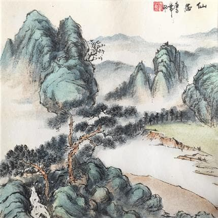 HuanHuan YU Life of immortal 36 x 36 cm