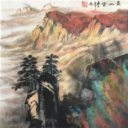 Yu Huan Huan Sea of cloud of Huang 36 x 36 cm