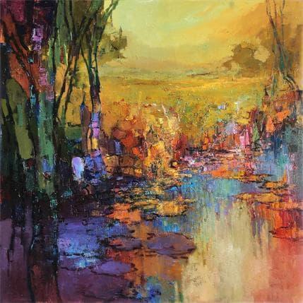 Ivica Petras THE JOY OF WATER 100 x 100 cm