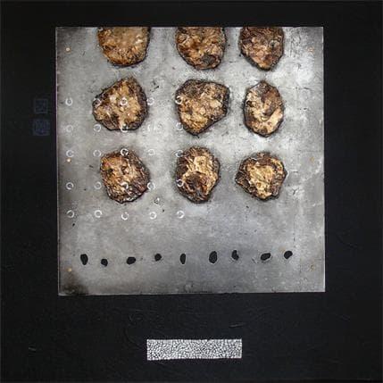 Catherine Simoneau Pestel Pareilles à des étoiles 50 x 50 cm