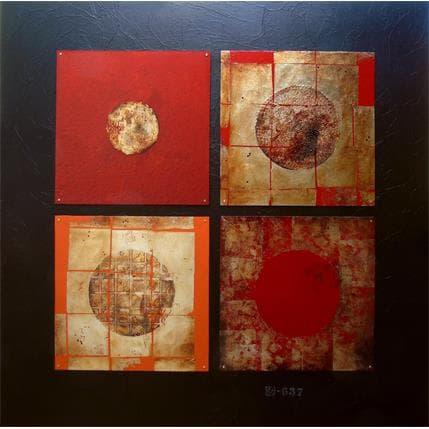 Catherine Simoneau Pestel Les rêveuses 100 x 100 cm