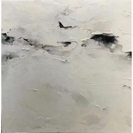 Nathalie Dumontier La lumière d'un hiver 80 x 80 cm