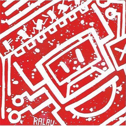 Ralau Spatial in the stars 13 x 13 cm