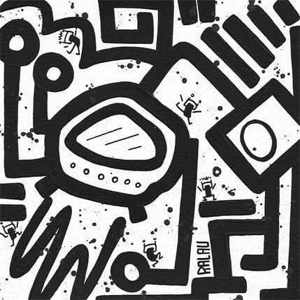 Ralau Space doodle 19 x 19 cm