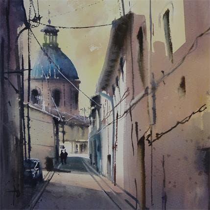 Violaine Abbatucci LE CALME DE ST CYPRIEN 25 x 25 cm