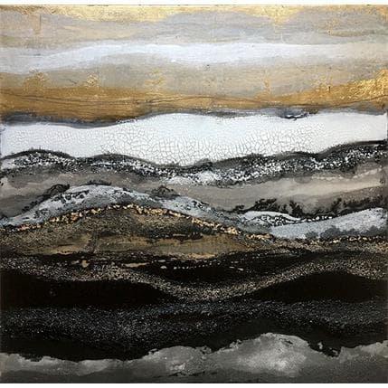 Etienne Boiteux C-100-21-D abstract landscape 100 x 100 cm
