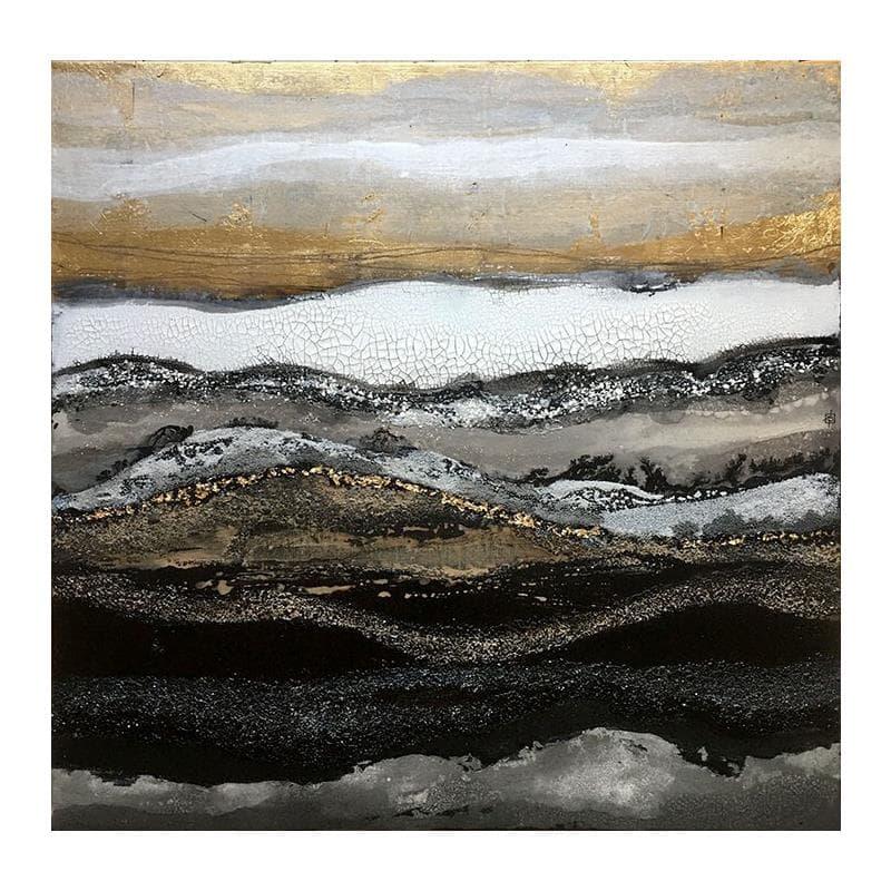 C-100-21-D abstract landscape