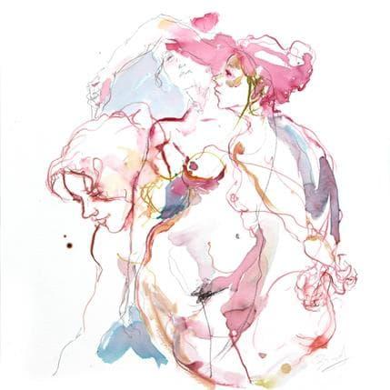 Sebastien Brunel Anaïs trois fois 50 x 50 cm