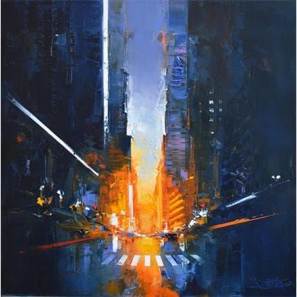 Daniel Castan Blue Hollis 80 x 80 cm