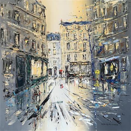 Patrick Rousseau Quartier Saint-Germain 80 x 80 cm