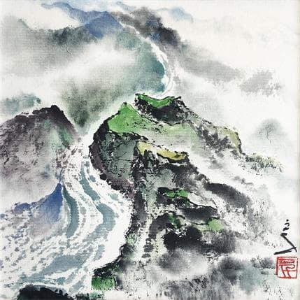 Sanqian Zigzag touch 13 x 13 cm