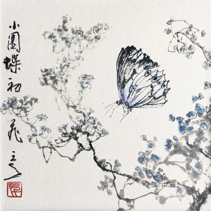 Sanqian Solo dance 13 x 13 cm