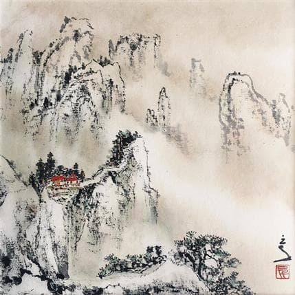 San Qian Red dots 19 x 19 cm