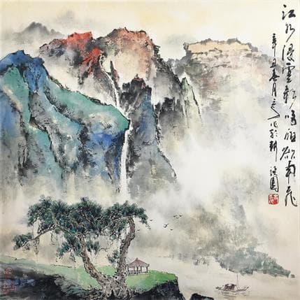 Sanqian Imposing 36 x 36 cm