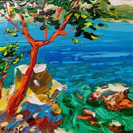 Dmitry Spiros Azure Bay 13 x 13 cm