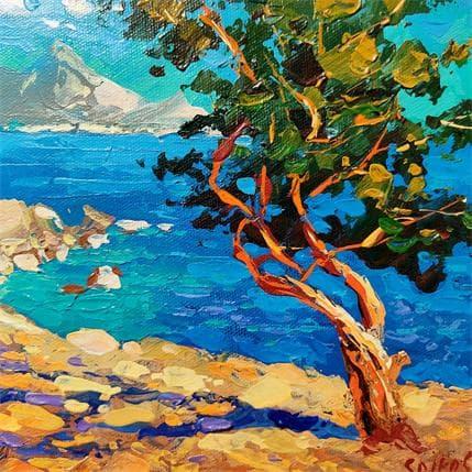 Dmitry Spiros Coastal etude 19 x 19 cm