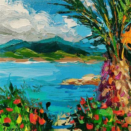 Dmitry Spiros Coastal etude 2 19 x 19 cm