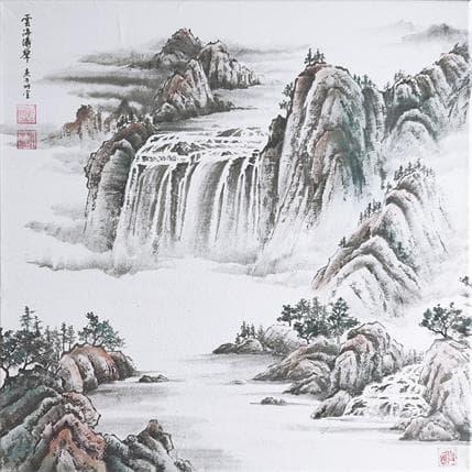 Mingxuan Du Spring hills 50 x 50 cm
