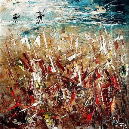 Pierre Reymond Don Quichotte sur la ligne 2 25 x 25 cm