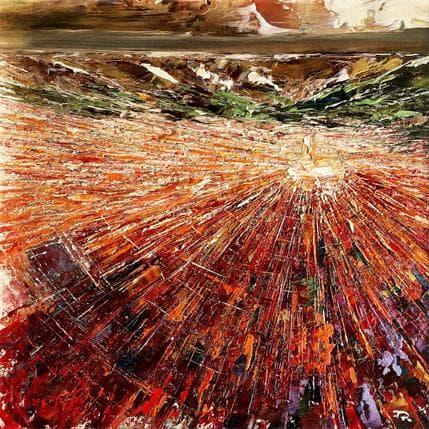 Pierre Reymond Ghardaïa vue du ciel 36 x 36 cm