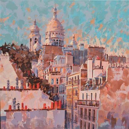 Rudyard Heaton Sacré coeur 80 x 80 cm
