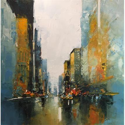 Daniel Castan Pearl Street 80 x 80 cm