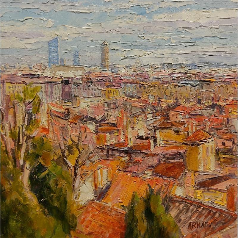 les toits du vieux Lyon