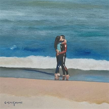 Sergi Castignani surf lovers 19 x 19 cm